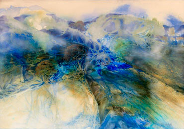 Donna-Wright-Mist-over-Mountains