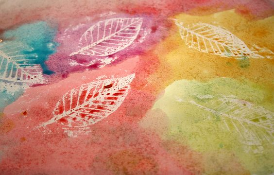 Leaf rubbing II