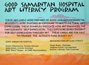 Good-Sam-Art-Program