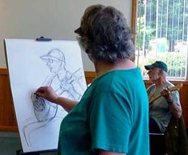 Pat Renner Drawing