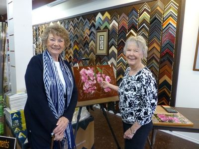 Shirley Hyatt & Sara Broderick 5-15