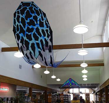 Kites-in-Library
