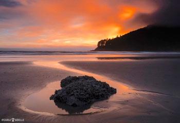 Sunset-at-Harris-Beach