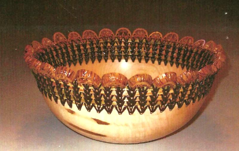 Pollard, Gary - Wood & Pine needle baskets