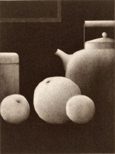Kipniss,-Robert_Still-life-w-kettle-and-fruit