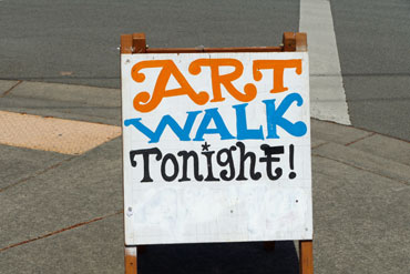 Art-Walk-Sign