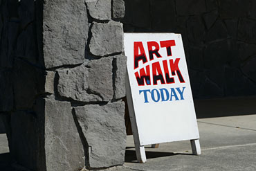 Library-Art-Walk-Sign