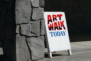 Library-Art-Walk-Sign
