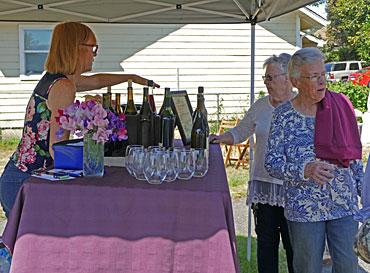HV Cellars Wine Garden