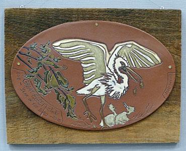 A-3D-HM-Great-Egret-Wall-Plaque-Ooan-Eddy
